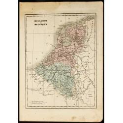 1850 - Carte géographique...