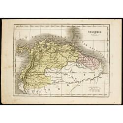 1850 - Carte ancienne de la...