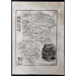 1867 - Département de l'Aisne