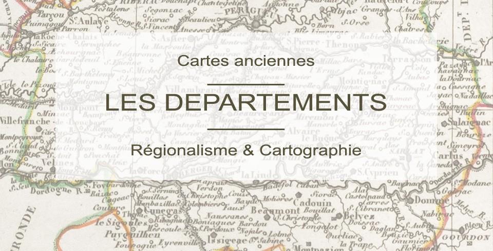 Cartes départementales